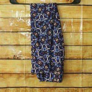 ❤ SALE! Lularoe Blue Swirl Pattern Os Leggings